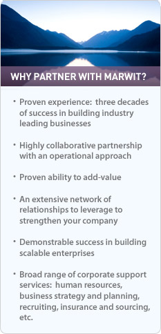 Why Partner with Marwit?